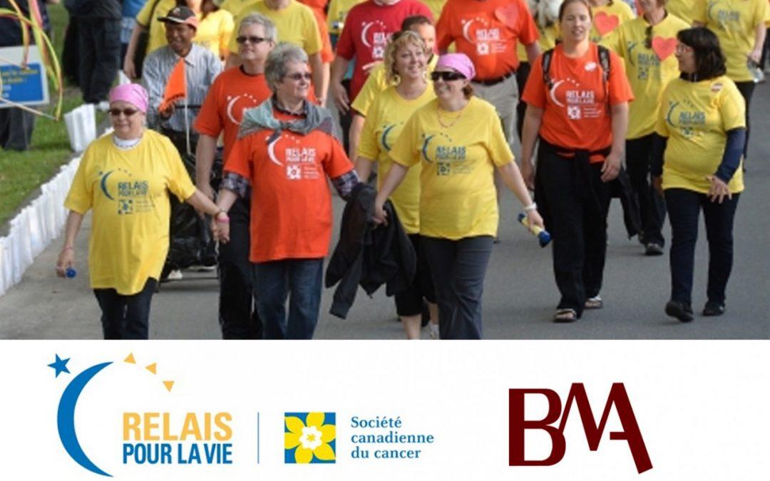 Relais pour la vie de la Société canadienne du cancer
